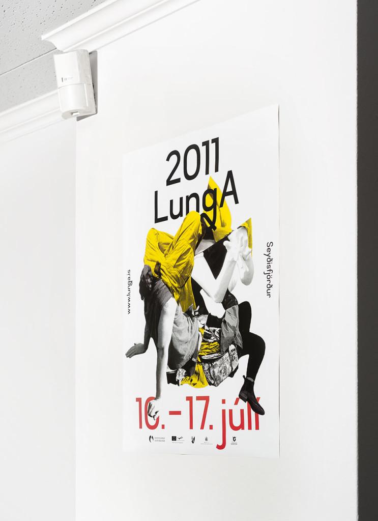 Veggspjald Lunda 2011